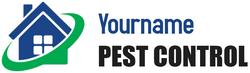 YourName Pest Control Service Logo